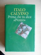 """Italo Calvino - Prima che tu dica """"Pronto"""""""