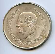 1952 Silver Mexico 5 Pesos. Uncirculated. Lot #1465
