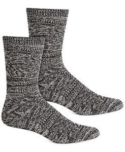 HUE Womens Supersoft Diamond Boot Socks Black Multi 1 Pair $8.50 - NWT