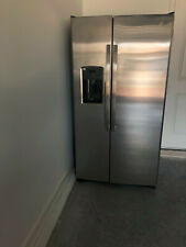 Ge Side by Side Stainless Steel Refrigerator - Never Used