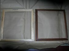 4 Larson Juhl Queen Victoria Walnut Embossed 12 x 11 5/8 joined Frames