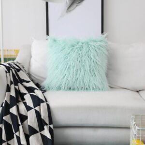 Soft Plush Pillow Cases Cushion Cover Pillowcase Sofa Throw Waist Cushion Decor