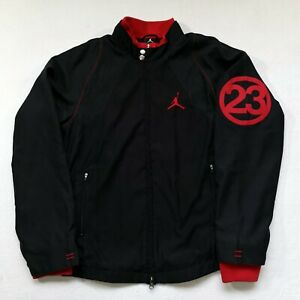 Jordan Track Top/Jacket | Small/Medium | Black/Red | Rare Y2K