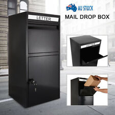 High Capacity Parcel Delivery Letterbox Mail Drop Box Mailbox Post Monument