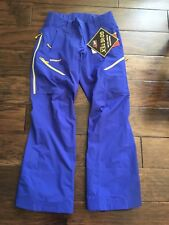 Patagonia Untracked Ski Snowboard Snow Pants Womens Small S Blue Gore-Tex Recco