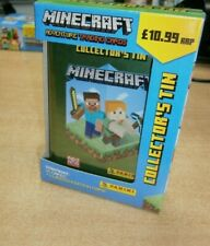 Panini Minecraft Adventure Trading Cards Collector's Tin. includes 33 Cards