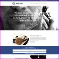 Fully Stocked Dropshipping MALE GROOMING Website Business For Sale + Domain