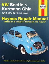 Haynes Repair Manuals, How To Books, Bug/Ghia 54-79 11-1070