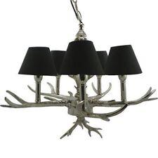 Lampadari da soffitto in alluminio nero