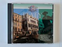 The World of Music: ITALY by Various Artists (CD Nov-1998, Hallmark) MINT 302682