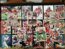 Jerry Rice San Francisco 49ers Card Lot of 24 UD, Topps, Fleer etc **INSERT**