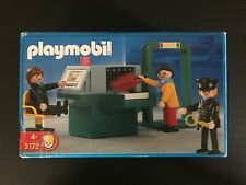 *RARE* Playmobil - Airport Security Check Point - Model No. 36138 - Discontinued