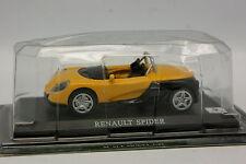 Prensa Ixo 1/43 - Renault Spider Amarillo