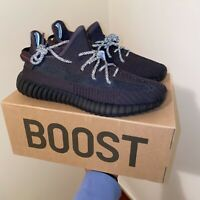 """New 63/"""" Adidas Yeezy 750 triple black rope LACES WITH GOLD TIPS core yzy BOOST"""