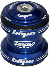 "Hope Conventional Headset 1-1/8"" MTB XC AM Enduro DJ - Blue - Brand New"