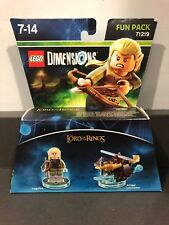 Boxed Lego Dimensions Lord Of The Rings Legolas Fun Pack 71219 COMPLETE