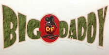 RAT ROD HOT ROD CHOPPER MOTORCYCLE  DECAL STICKER BIG DADDY RAT FINK