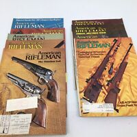 Vintage - American Rifleman Magazine Lot of  9 Issues all from the Year 1979