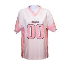 Youth Girls NFL Miami Dolphins Pink White Short Sleeve Football Jersey Size  L 7582dc6a6