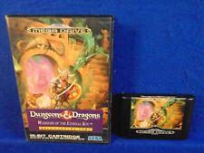*Sega Mega Drive DUNGEONS AND DRAGONS Warriors of the Eternal Sun (NI) PAL