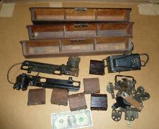 Vintage Singer Sewing Machine Treadle PARTS,Drawers,Springs,Hinges,Hardware Tool