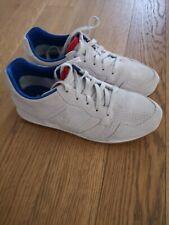 edf967d119e7b3 sneakers le coq sportif omega grigio pelle scamosciato 42-43 cm 27,7 come