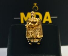 9CT YELLOW GOLD 'NAKED LADY IN BATH' CHARM