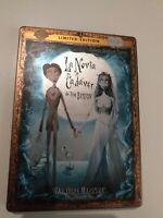 DVD  LA NOVIA CADAVER DE TIM BURTON edicion limitada 2  dvd