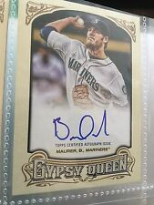 2014 Topps Gypsy Queen Brandon Maurer GQA-BM Seattle Mariners Autograph Baseball
