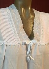 True Vintage Nightgown Willow Creek Pink Hollywood Glam Sissy Small Retro