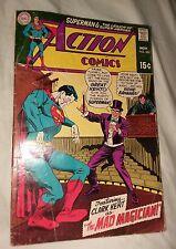Action Comics #382 1969 DC Comics Superman Mad Magician legion of super heroes