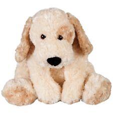 PLUSH SOFT TOY Minkplush Madeline 2 Two-tone Cream Dog 50cm Teddy Lazybones