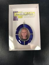 Switchables Blue Picture Stained Glass Night Light Cover NEW