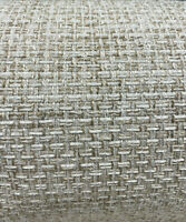 P K Lifestyles Interweave Meringue Off-White Upholstery Fabric By The Yard