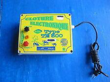 Boitier de contrôle de clôture électrique Secteur TE 300 Tensions: 230V 50 Hertz