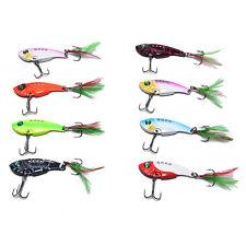 fishing lures set spoon Metal VIB sequins hard bait bass vibration crankbait x0