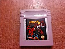 Nintendo Game Boy Cart Only Tested Spider-Man 2 CLEAN LABEL Ships Fast