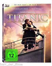 TITANIC (Leonardo DiCaprio, Kate Winslet) Blu-ray 3D + Blu-ray 2D NEU+OVP