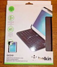 "Unused But Scratched Belkin Qode Slim Style Keyboard Case For Tablets 10"" IOS An"