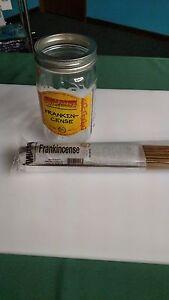 "100 Genuine Wild Berry 11"" Frankincense incense sticks sealed in plastic wrapper"