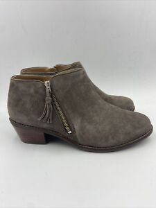 Vionic Womens Serena Greige Suede Booties Size 9 M , 028