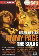 LICK LIBRARY Learn To Play The SOLOS JIMMY PAGE STAIRWAY TO HEAVEN Guitar DVD
