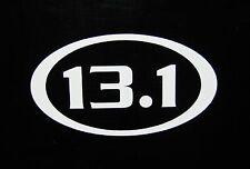 "13.1 Half Marathon Race Decal Sticker Run Jog *NEW Design 3.5"""