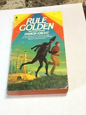 Vintage 1979 Sci-Fi Rule Golden And Other Stories Damon Knight Avon Pb
