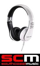 CASIO XWH2 HEAD PHONES WHITE HIGH QUALITY DJ IPOD FOLDABLE HEADPHONES EARPHONES