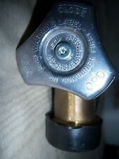 NEW  HEAVY DUTY PROPANE TRANSFER VALVE WITH Overfill Protection Device for 30#