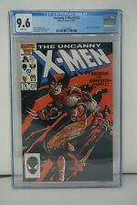 MARVEL COMICS CGC 9.6 THE UNCANNY X-MEN #212 12/86 WHITE PAGES