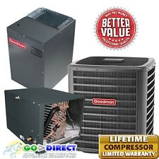 3 Ton 16 Seer 2 Stage Heat Pump Horizontal Dszc160361+Mbvc1600Aa+Chp f3642C6