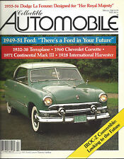 Collectible Automobile Magazine February 1988 Vol 4 - No 5