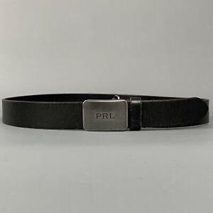 POLO by RALPH LAUREN Size 32 Black Leather Belt